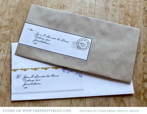 Address Labels For Wedding Invites: Addressing Your Invites – Free Printable