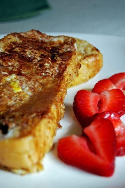Life Tastes Good: French Toast with Honey Vanilla Bean Butter