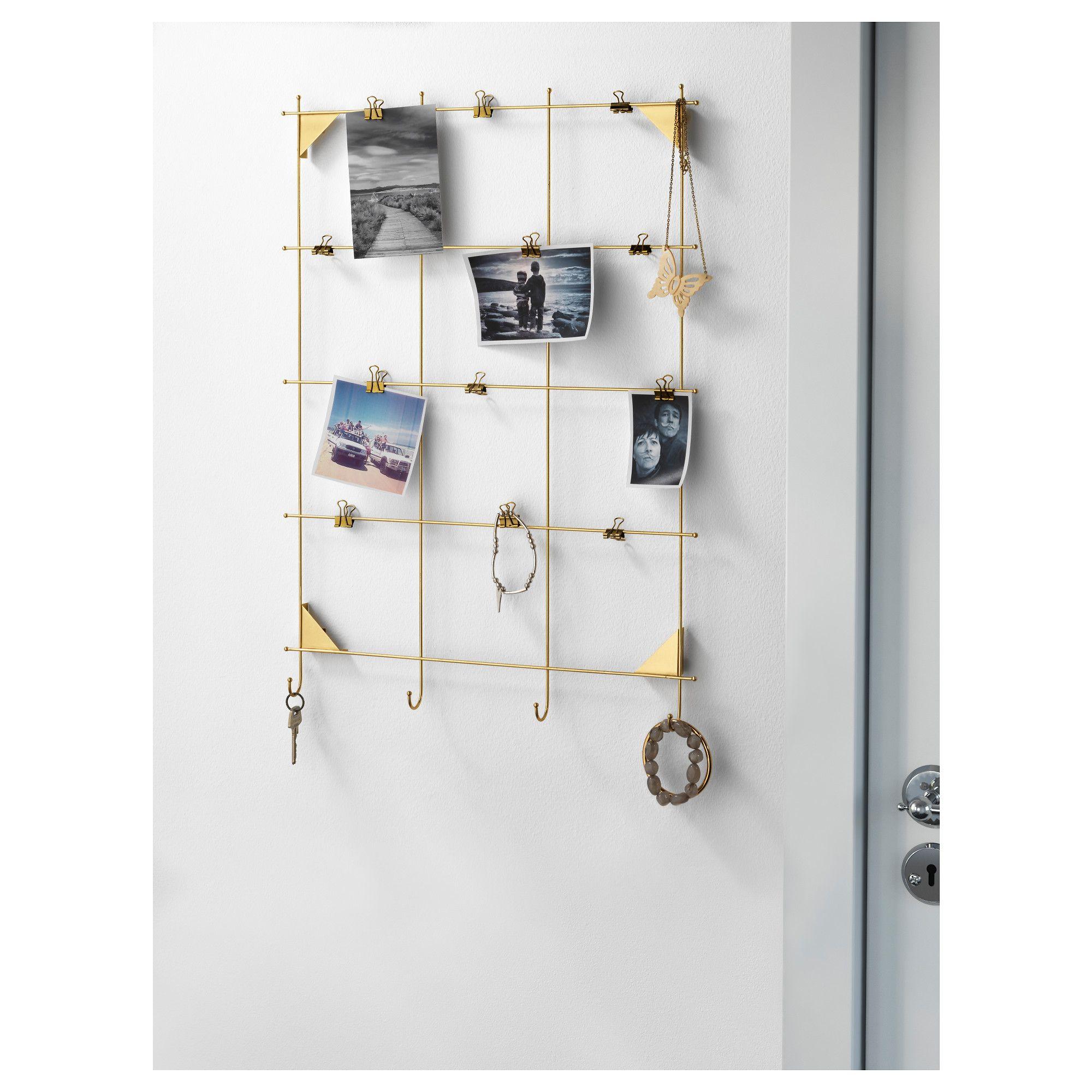 MYRHEDEN Rahmen, messingfarben | Aufhängen, Haken und Ikea