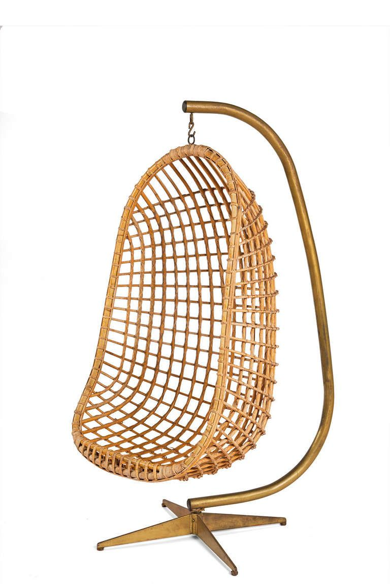 Wicker egg chair - Hanging Egg Chair