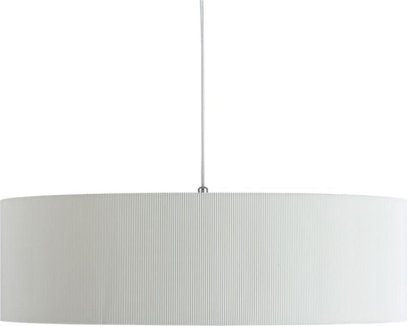 oversized equator pendant lamp in pendant lamps   CB2 ...