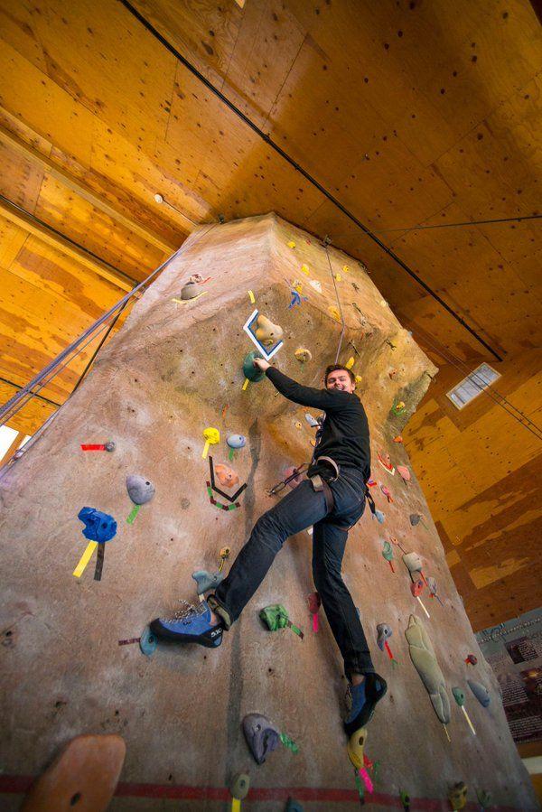 MaineBound Adventure Center has an indoor rock-climbing ...