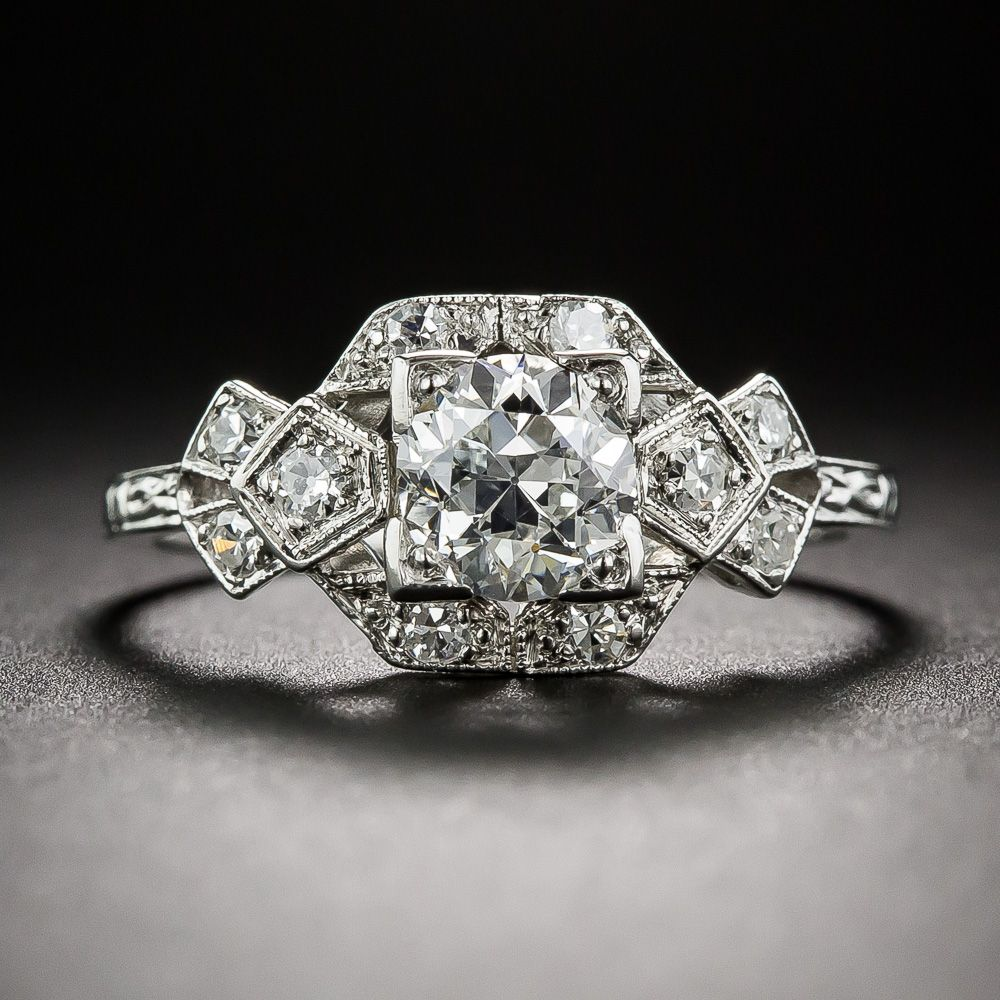 gold in white diamond tw ring diamonds of with engagement carat