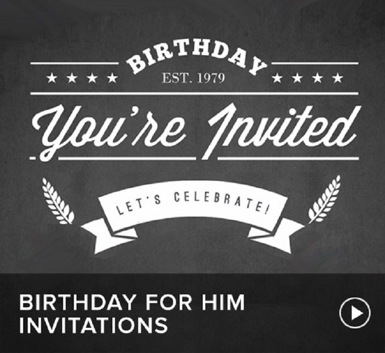 21st Birthday Invitations For Guys