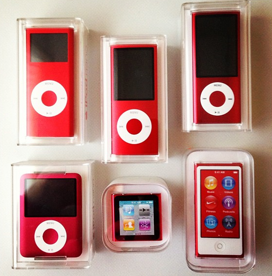 Product RED nano Apple ipod, Apple products, Apple design