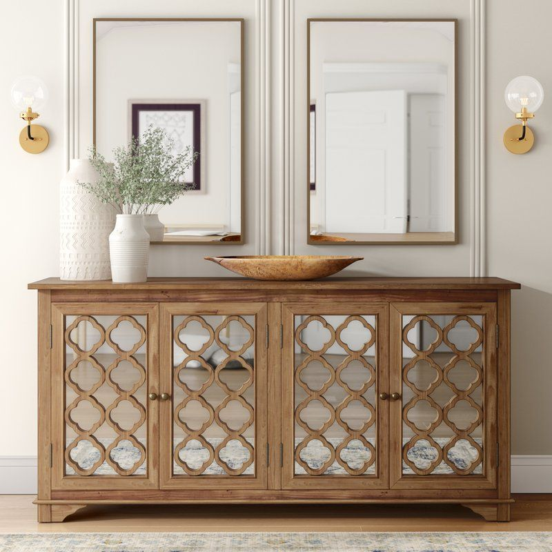 Swifton Sideboard Mirror Cabinets Furniture Wooden Cabinets