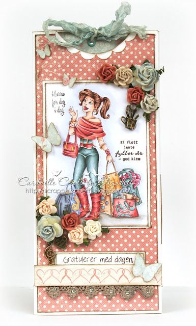 Cardville- Cards by Elizabeth: DT Copic marker Europe: Love to shop