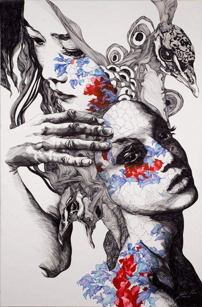 As ilustrações de Gabriel Moreno combinam técnica e imaginação de um modo único. O espanhol, que já teve seu trabalho publicado aqui, continua a nos surpreender com seus traços fluidos e suas linha…