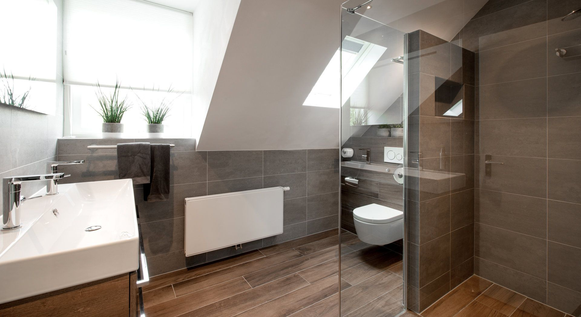 Warme Rustieke Badkamer : Badkamer van middelkoop culemborg vloer en accenten met keramisch