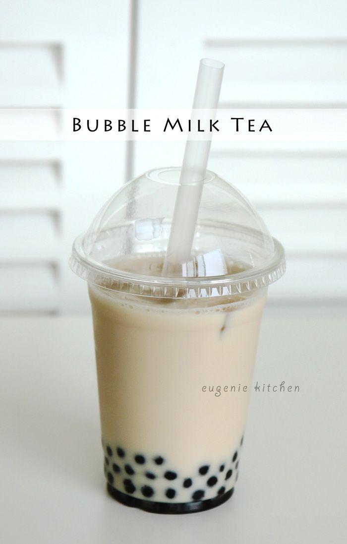 Bubble Tea Milk Tea Coconut Recipe Boba Tea Recipe Bubble Milk Tea Bubble Tea Recipe