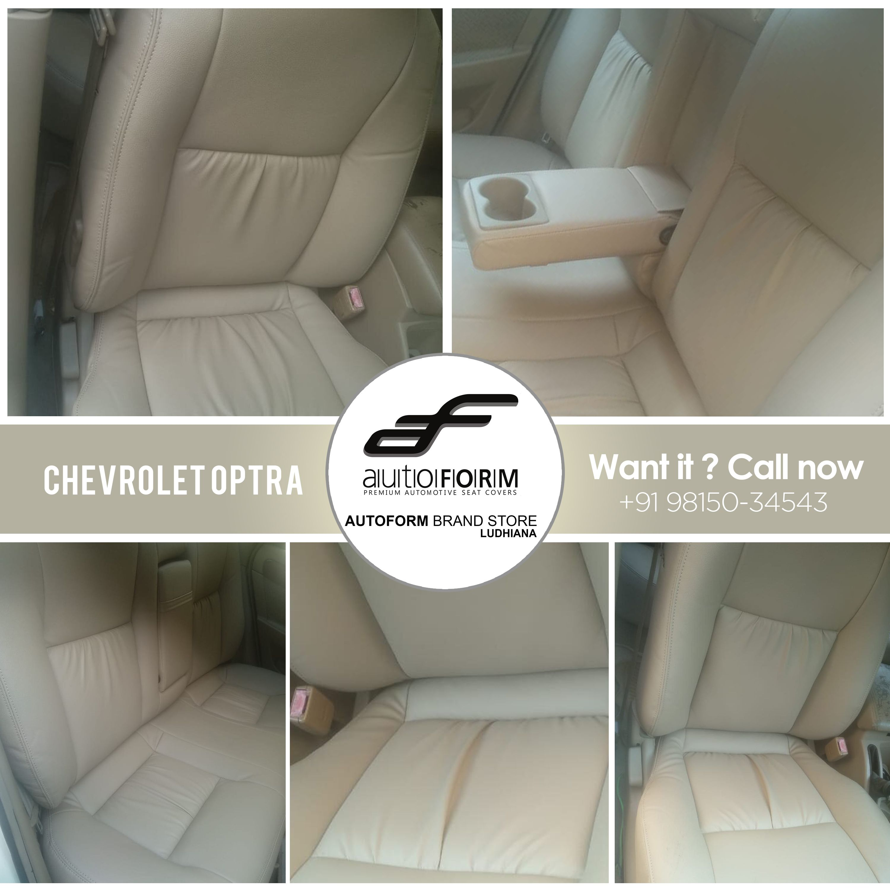 Chevrolet Optra In The Off White Colours From Riviera Series Of Autoformindia Looks Perfect And Nicely Settled Inside Cars C Seat Covers Car Seats Ludhiana