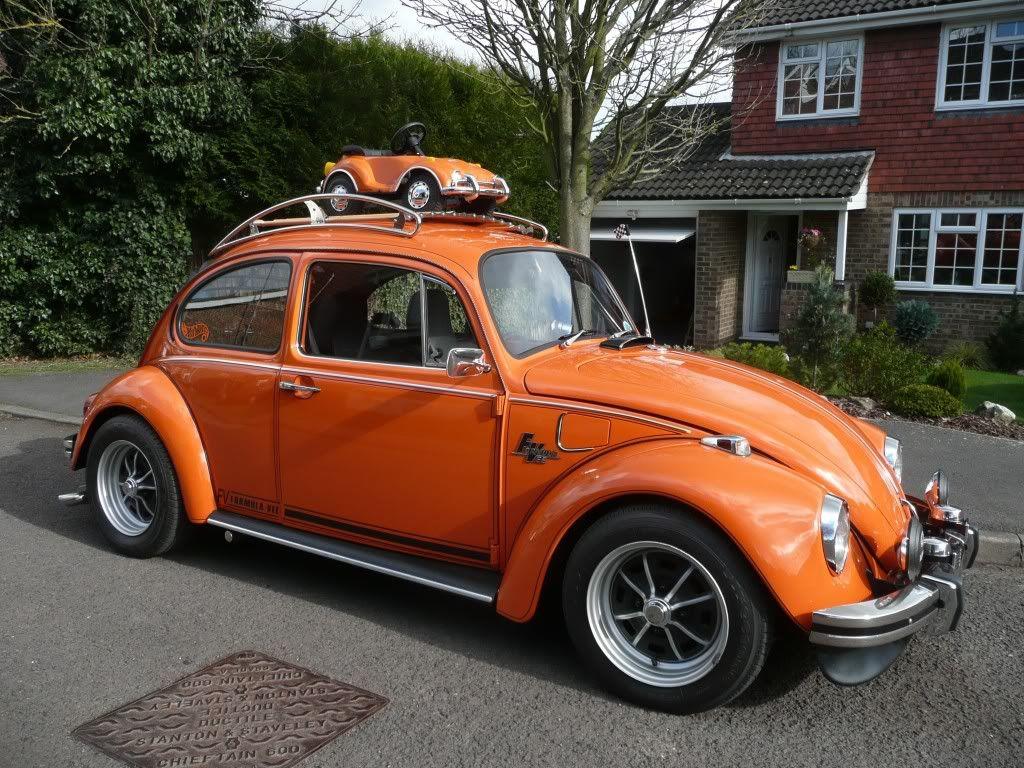 big beetle -- little beetle VW