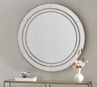 Marlena Antique Round Mirror Antique Mirror Mirror Wall Decor