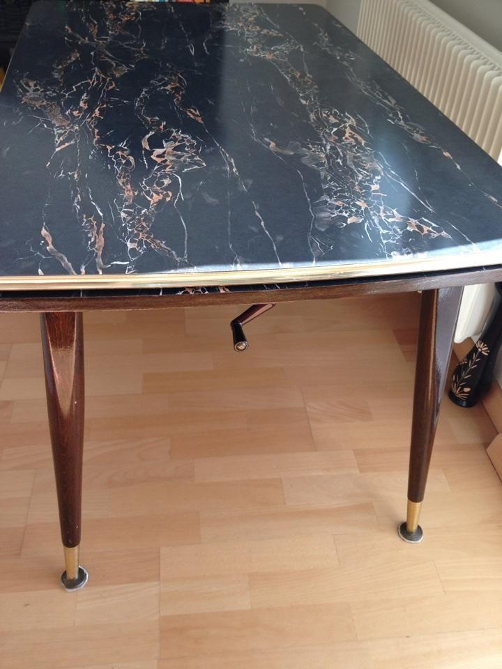 Rockabilly 60er Jahre Tisch Schner Original Ausziehbar