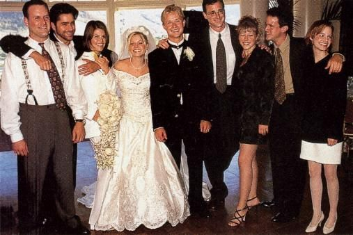 Dj Gets Married In Real Life Full House Tv Show Full House Fuller House