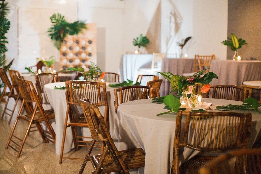 Tropical Wynwood Art Gallery Wedding Miami District