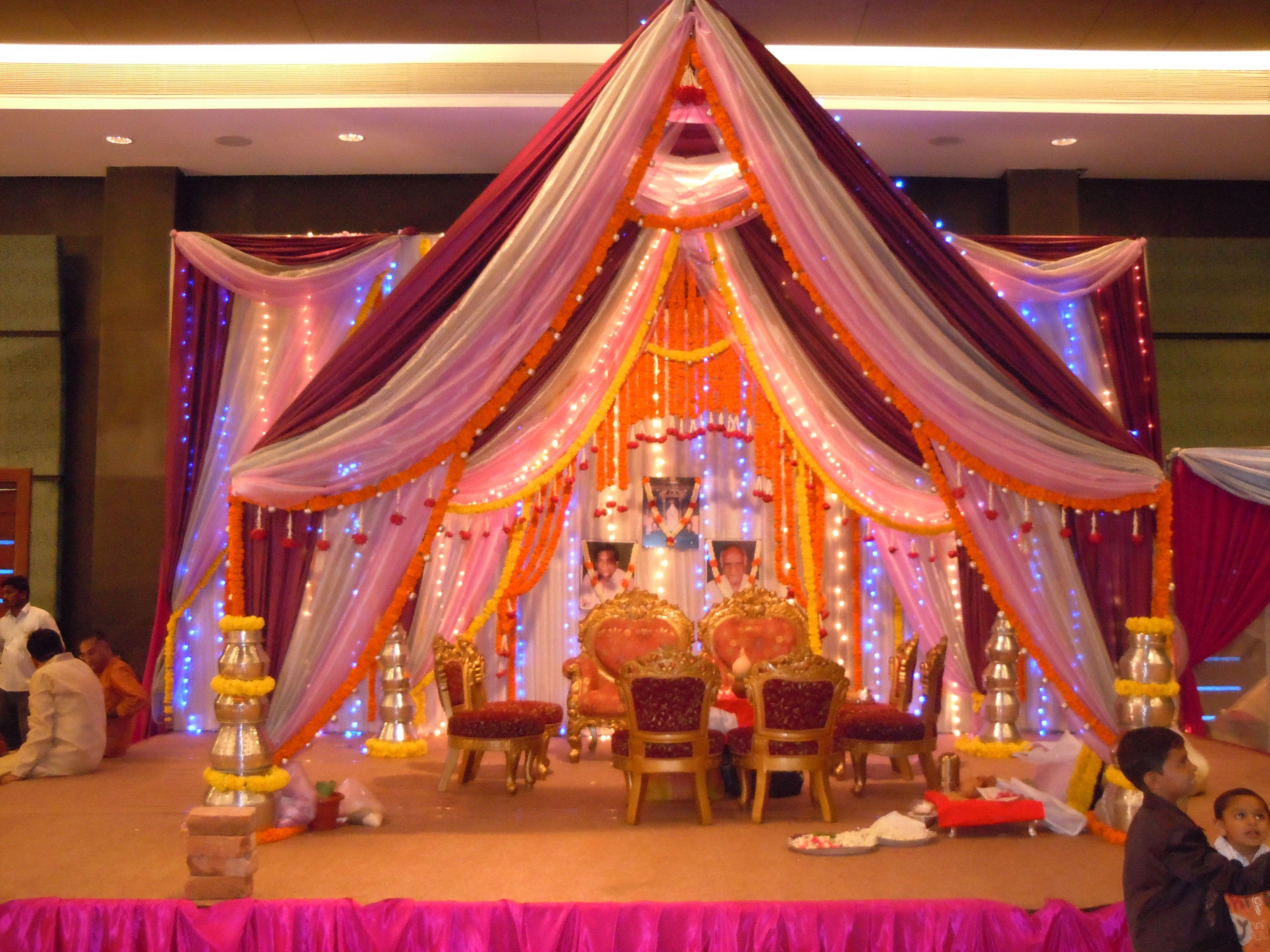 Elegant Tents by Jan Harris Wedding tent