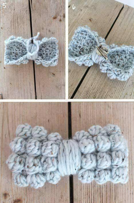 Lazito Tejido A Crochet - Paso a Paso   Sofy   Pinterest   Tejido ...