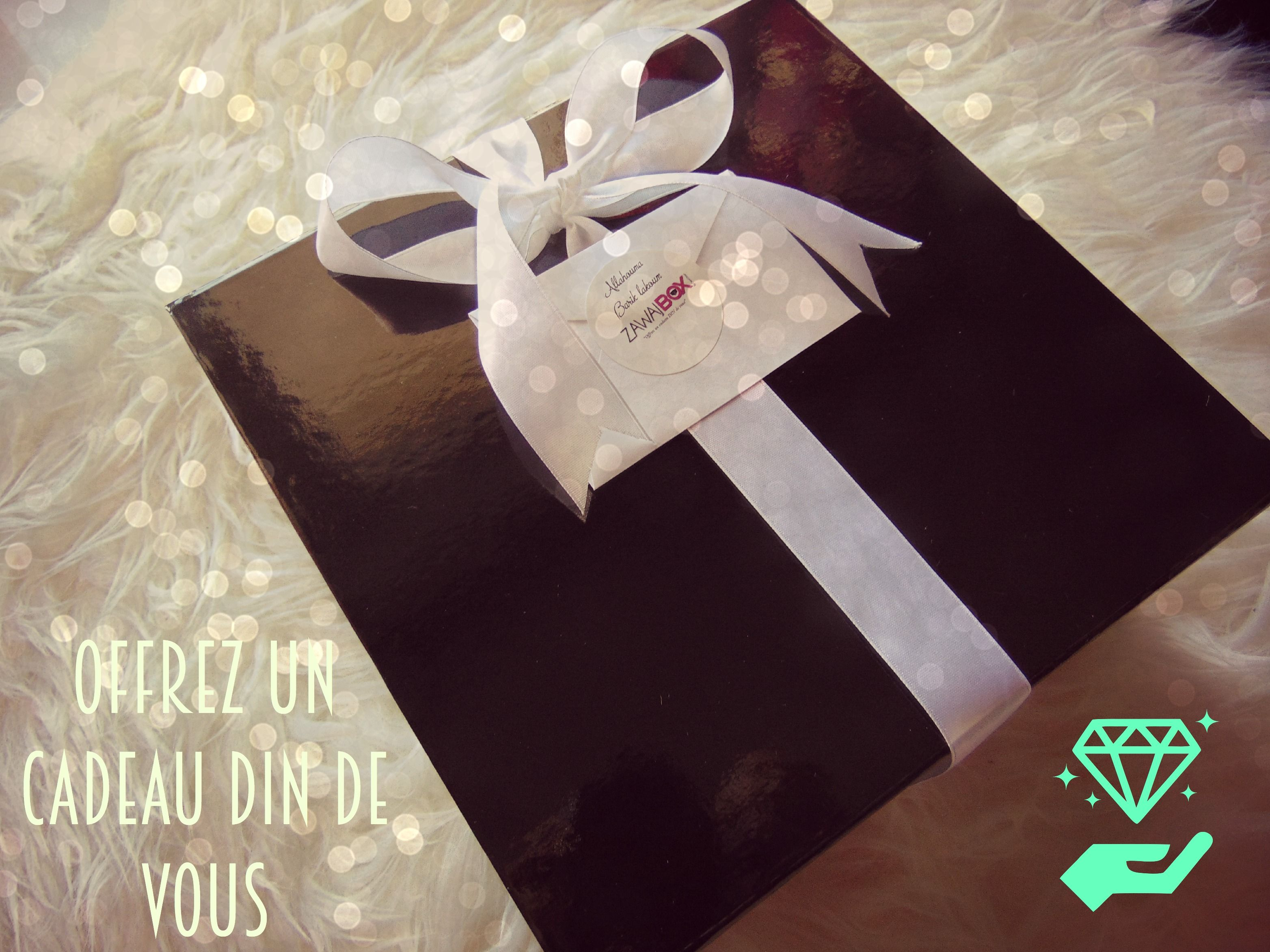 box cadeau mariage couple musulman islam fashion design