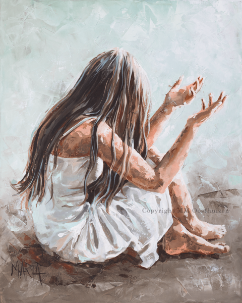 I Need You Original Fine Art Painting by Maria Magdalena Oosthuizen. Medium: Acrylic on Canvas. Stretched, and Blocked,  … | Prophetic art, Jesus art, Jesus painting