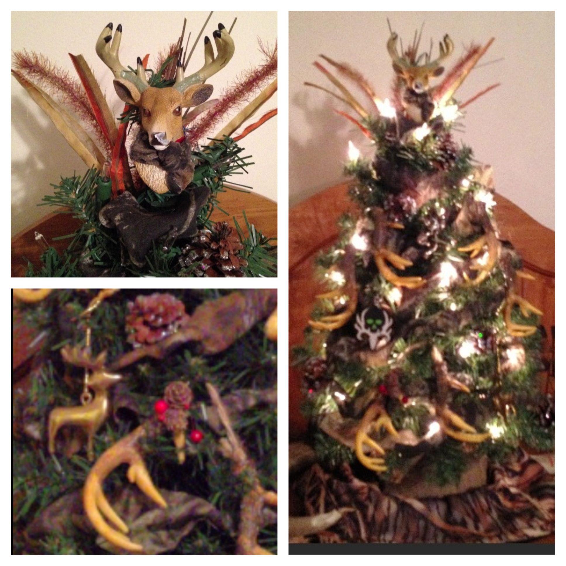 Deer Camo Christmas Tree