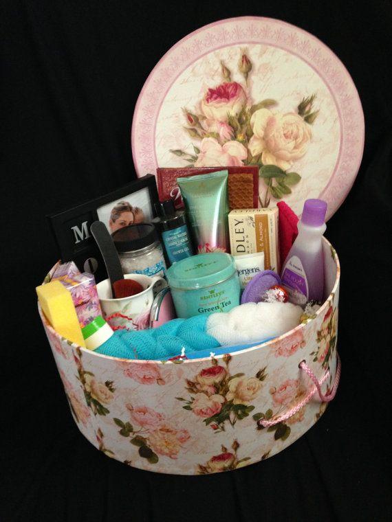 Mother S Day Gift Basket Pamper Mom On Etsy 100 00