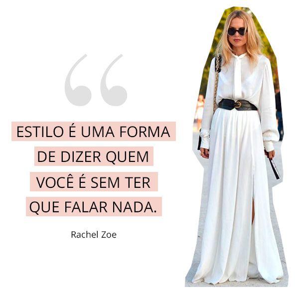 Os melhores conselhos de moda das fashion girls: rachel zoe
