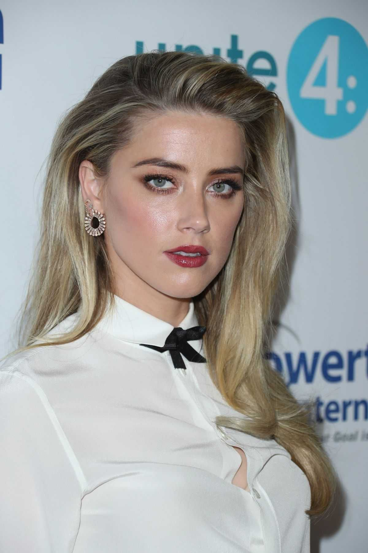 Amberheard Beverlyhills Amber Heard At 4th Annual Unite4 Humanity Gala In Beverly Hills Celebrity Uncensore Amber Heard Hair Amber Heard Style Amber Heard