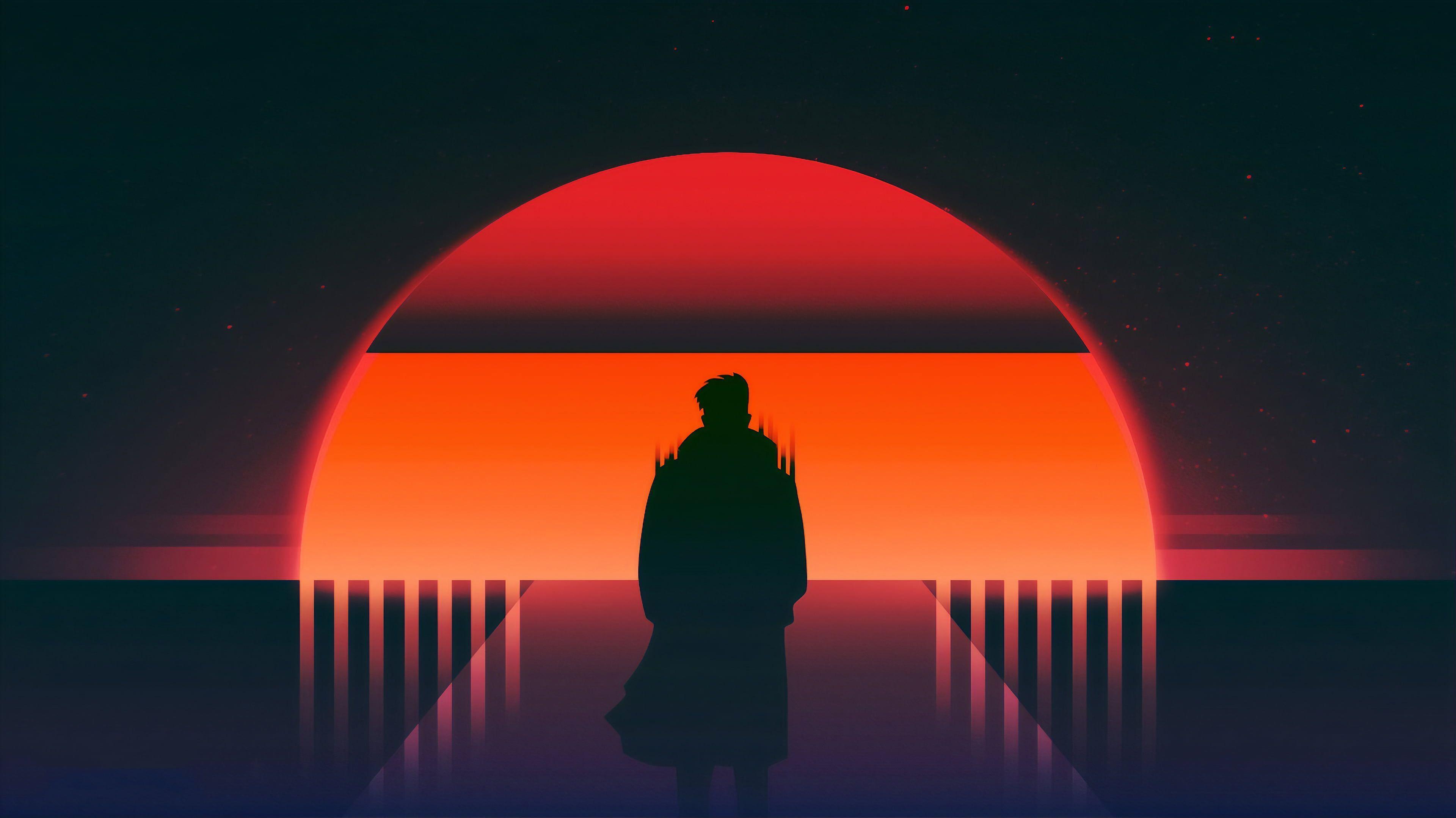 vaporwave sunset #vaporwave, 2020