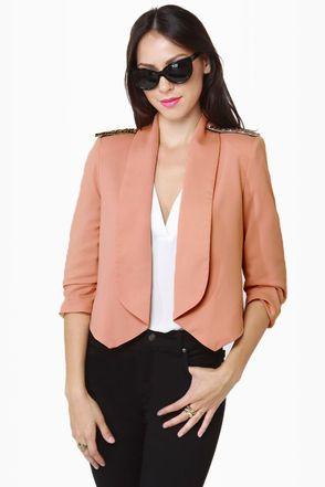 Blush Costumes Costume Et Cropped Femme Jacket Affaires Headmistress BwdnT0qZT