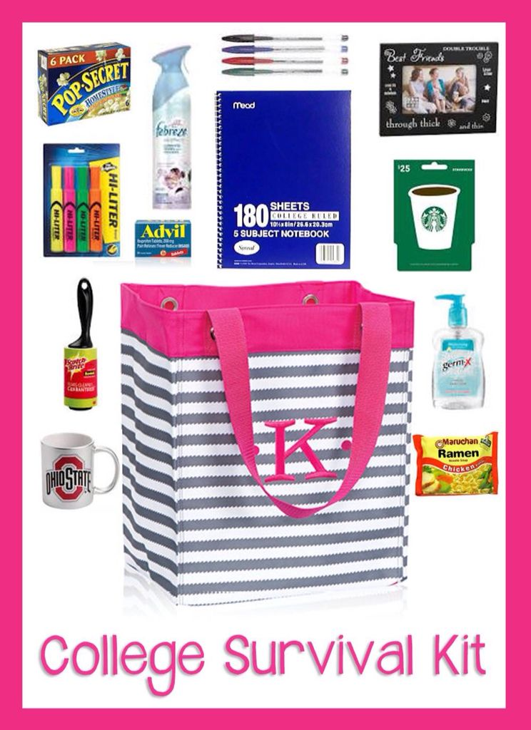 College Survival Kit First Year Students Would Love This