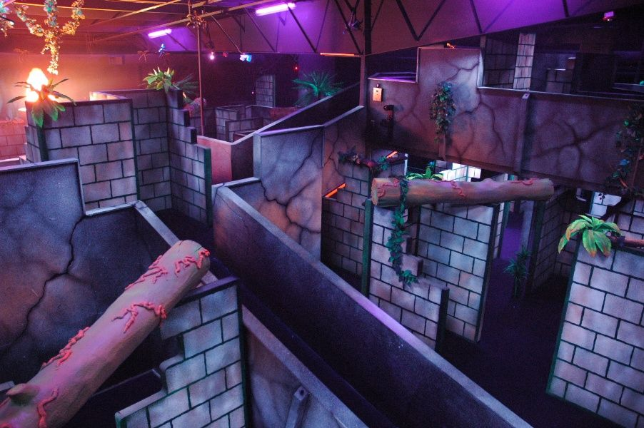 Laser Tag Laser Tag Party Laser Tag Dream House Exterior