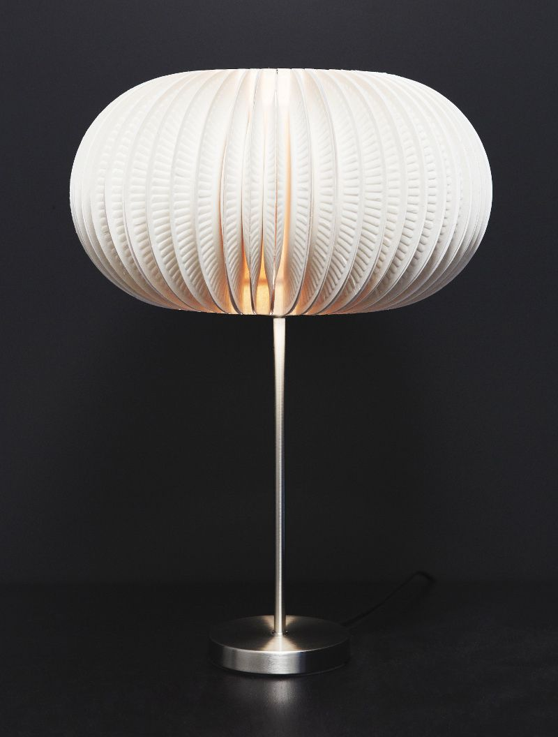 Paper Plate Lampshade: Use paper plates and make this stunning ...