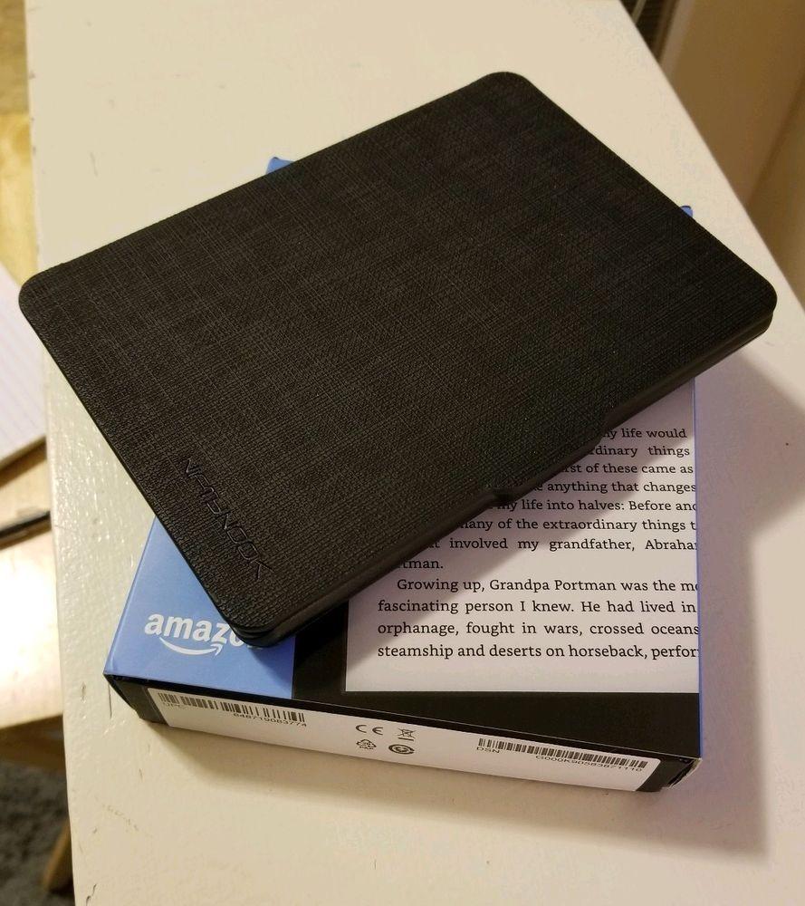 eBay #Sponsored Kindle E-reader with Case - Black 6
