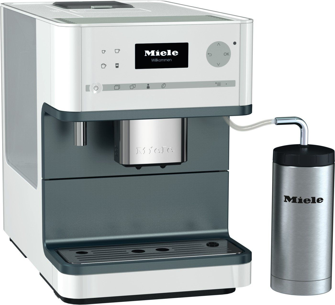 Miele Cm6310 White Coffee Machine White To View Further For