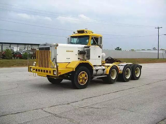 426f6317d4831 Where it all started 79 AutoCar this ones been modified with a third drop  axle but