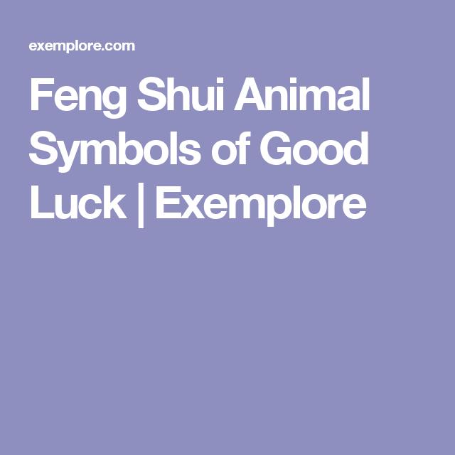 Feng Shui Animal Symbols Of Good Luck Exemplore Feng Shui Career
