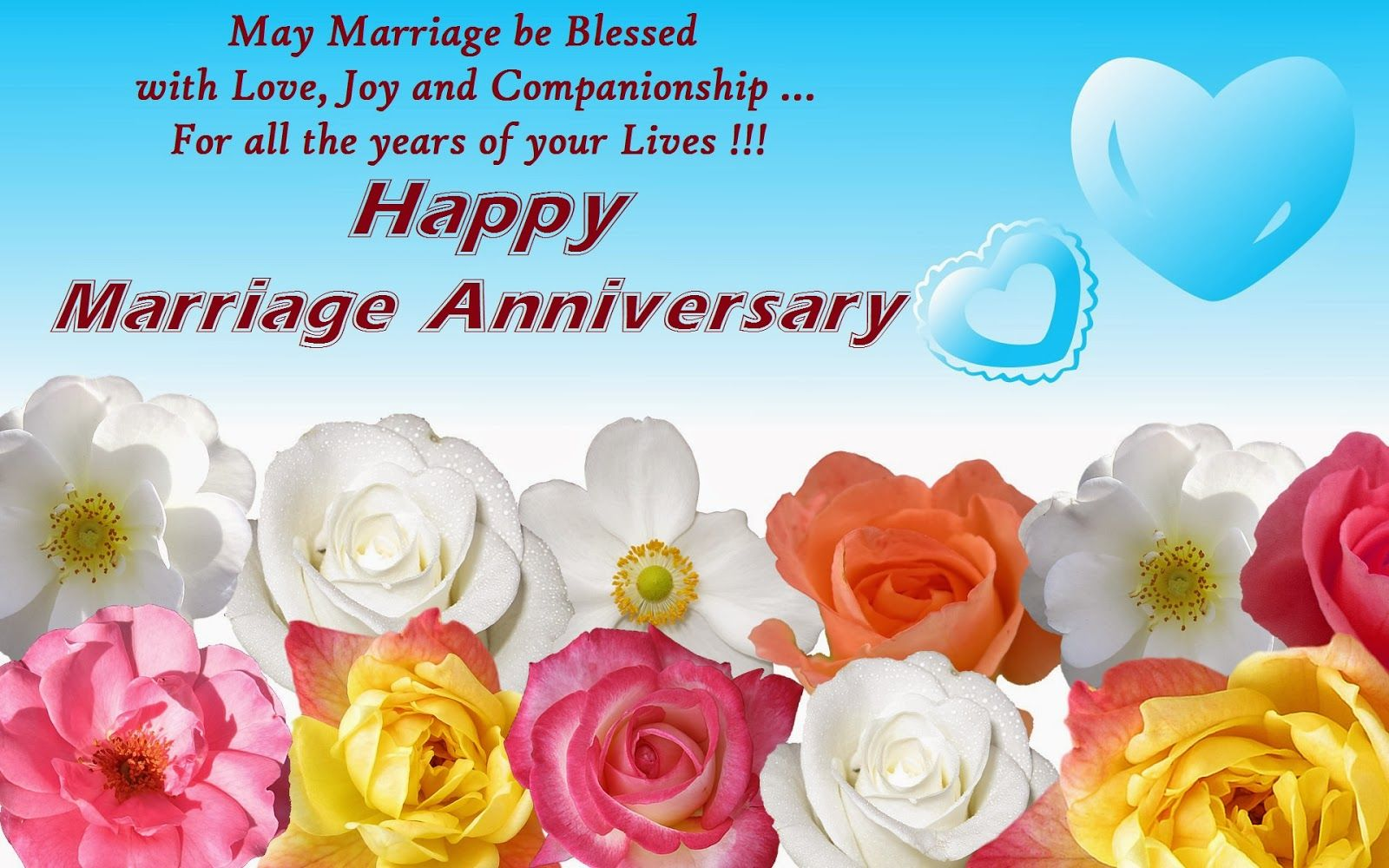 Romantic wedding anniversary wishes