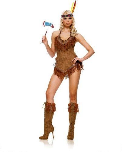 Sexy Suede Indian Halloween Costume Women eBay #halloween - sexy halloween decorations