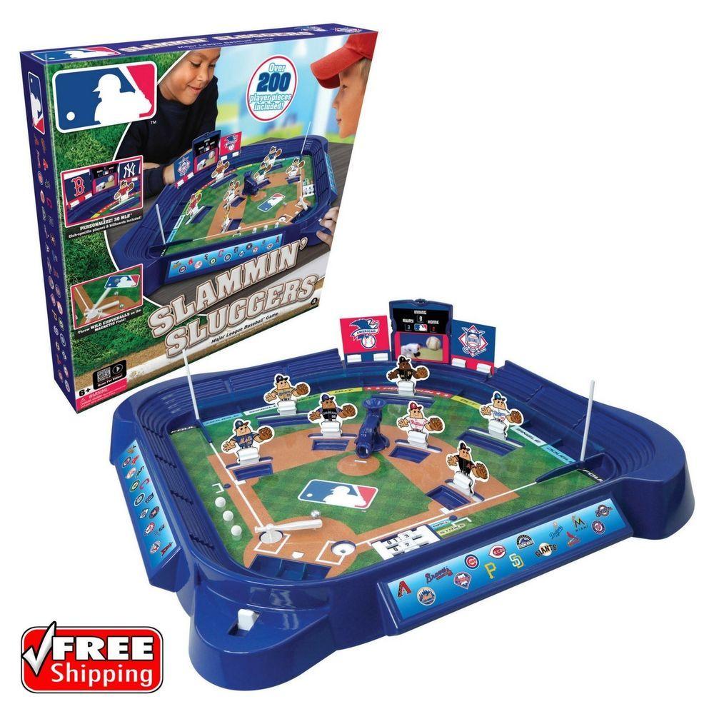 Mlb Slammin Sluggers Baseball Game 200 Individual Player Pieces Family Fun Game Toys Hobbies Outdoor Toys Slugger Baseball Games Online Baseball Games