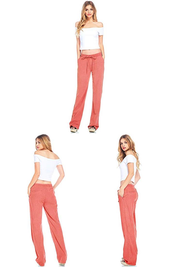 Celebrity Pink Women S Wide Leg Linen Pants Womens Black Linen Pants Womens Wide Leg Linen P Linen Pants Women Womens Wide Leg Linen Pants Wide Leg Linen Pants [ 1102 x 735 Pixel ]