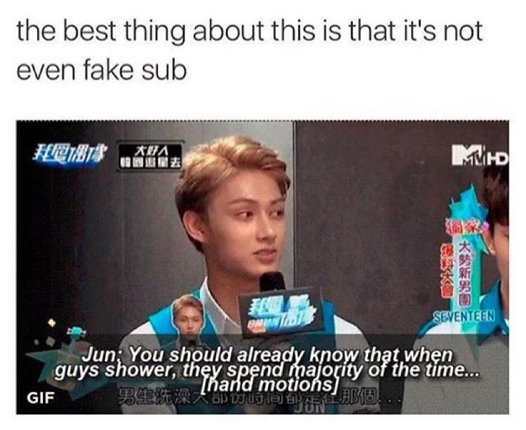 Jun You Need To Watch What You Say On Broadcast You Silly Goose