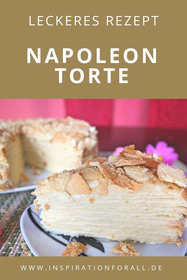 Napoleon Torte – Rezept für beliebten russischen Kuchen #schnelletortenrezepte