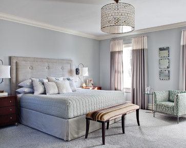 Silver Blue Gray Walls Paint Color Is Benjamin Moore Sterling Just Painted Our Bedroom This And It Came Out Exactly Like In Picture