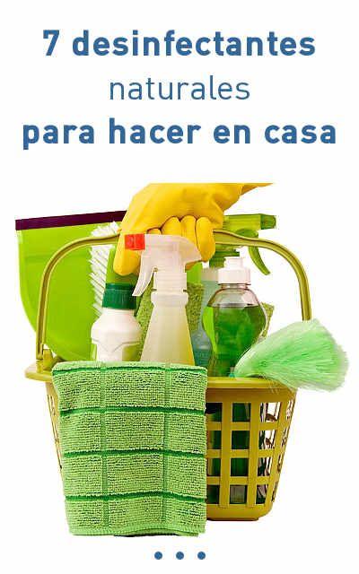 7 Desinfectantes Naturales Para Hacer En Casa Trucos De Limpieza
