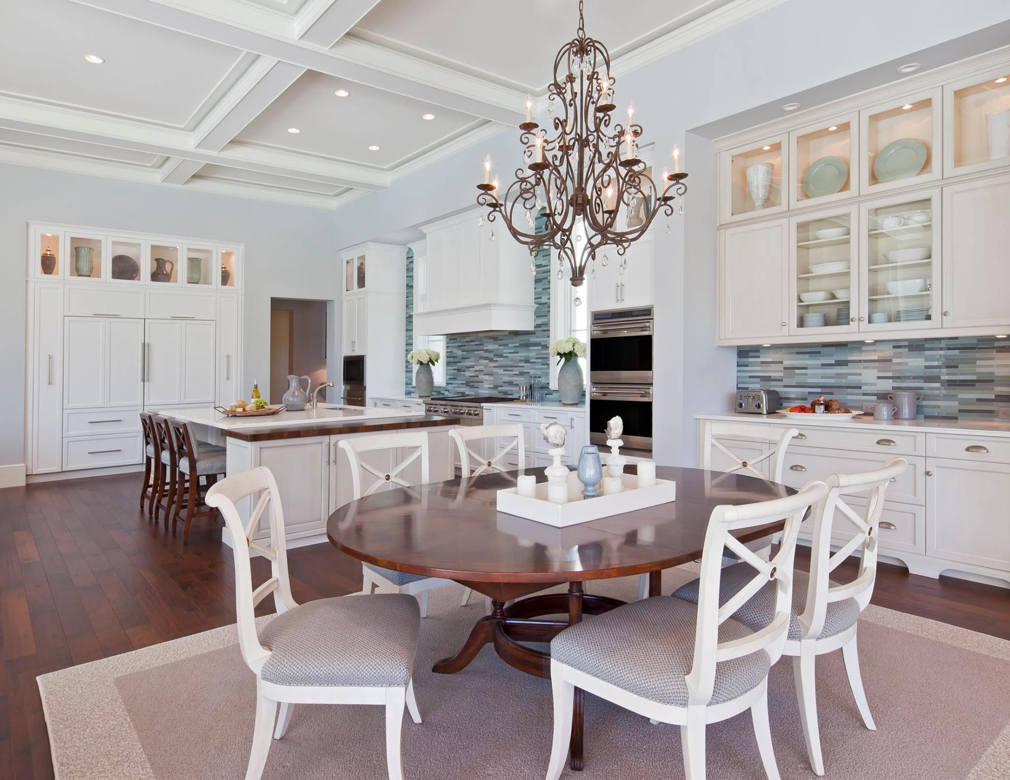 Collins & Dupont Design Group kitchen in waterfront community estate. design by:collins