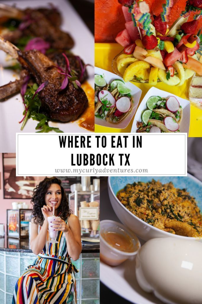 Photo of Where to Eat in Lubbock Texas – My Curly Adventures