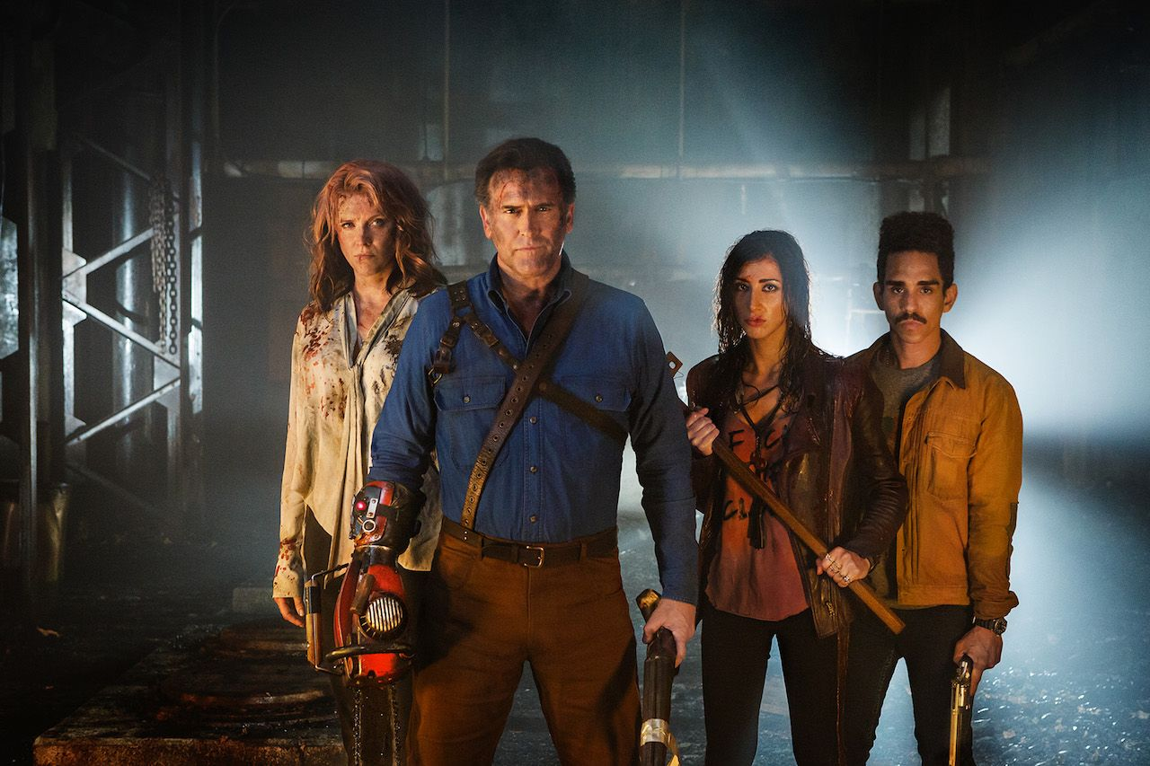 Ash Vs Evil Dead Season 2 Teaser Watch At Comingsoon Net Ash Evil Dead Bruce Campbell Newest Horror Movies