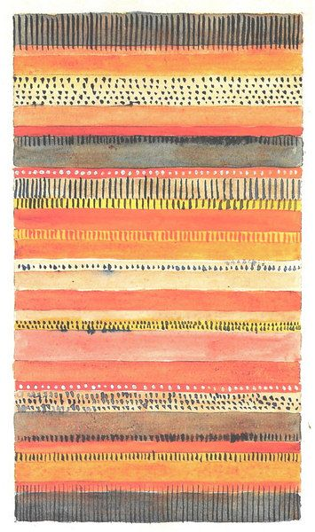 stripe watercolor #prettypatterns