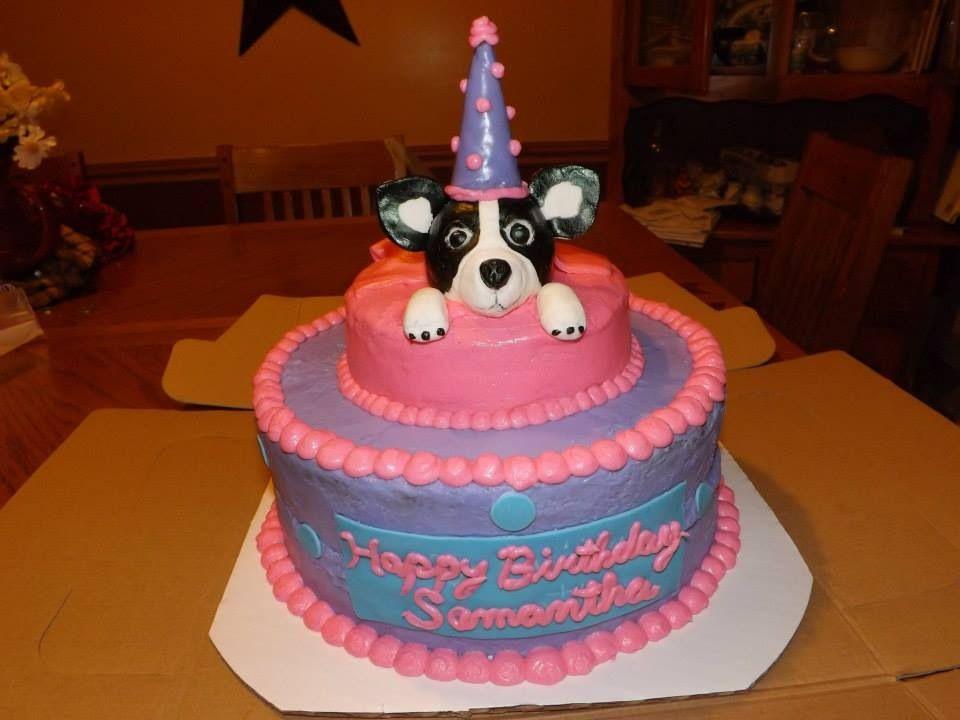 Stupendous Chihuahua Happy Birthday Cake Taart Funny Birthday Cards Online Unhofree Goldxyz